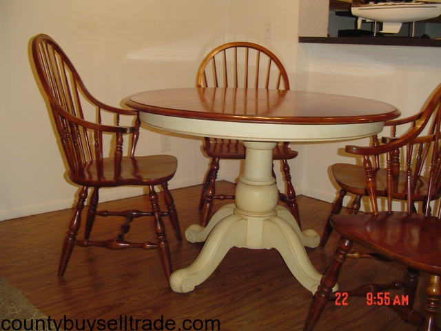 Ethan Allen Table U0026 Windsor Chairs In St. Petersburg, Pinellas, Florida    Napa County Buy, Sell, Trade